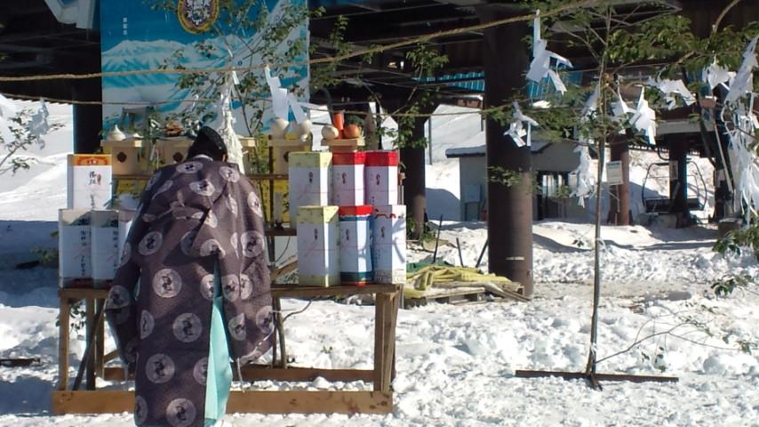 野麦峠スキー場安全祈願祭