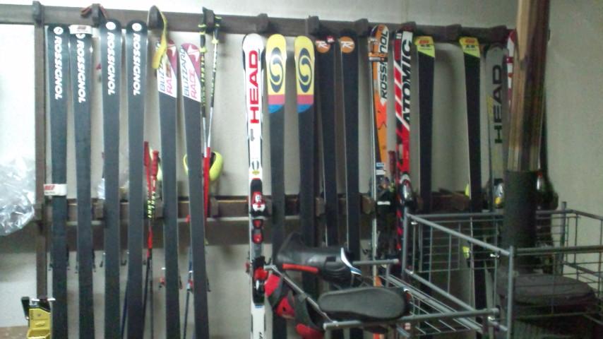 信州松本・奈川 <br /> 野麦峠 奈川 渋沢温泉 温泉宿 山荘わたり 乾燥室 スキー