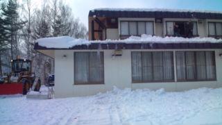 信州松本・奈川 山荘わたり 雪下ろし