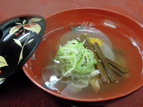 干しわらびのお吸い物/soup_dried_warabi_2