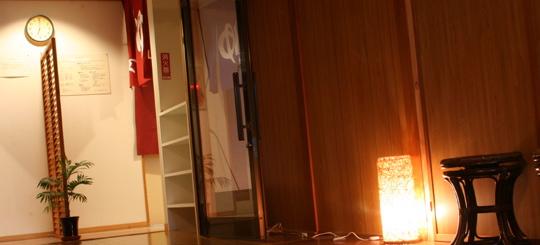 信州松本・奈川 温泉宿山荘わたりの廊下