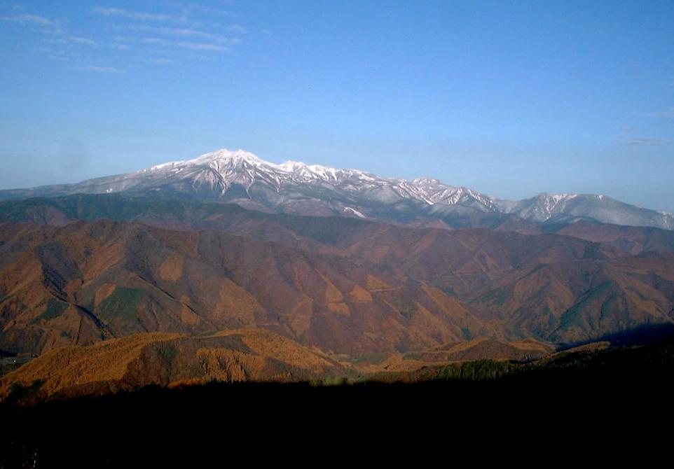 温泉宿山荘わたりHPトップ_乗鞍岳