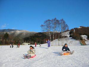 野麦峠スキー場_バンビゲレンデ_2012.1