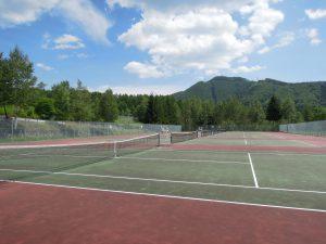 市営テニスコート_奈川高原